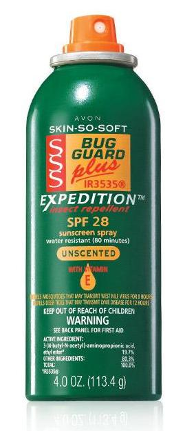 Skin So Soft Bug Guard Plus IR3535® Expedition™ Aerosol Spray SPF 28